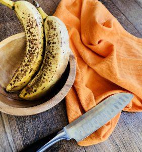 banana in bowl