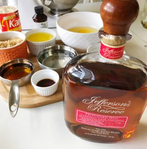 bourbon and other pie ingredients