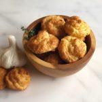 Easy Garlic Thyme Gougeres