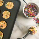 Funfetti Cookie Bites