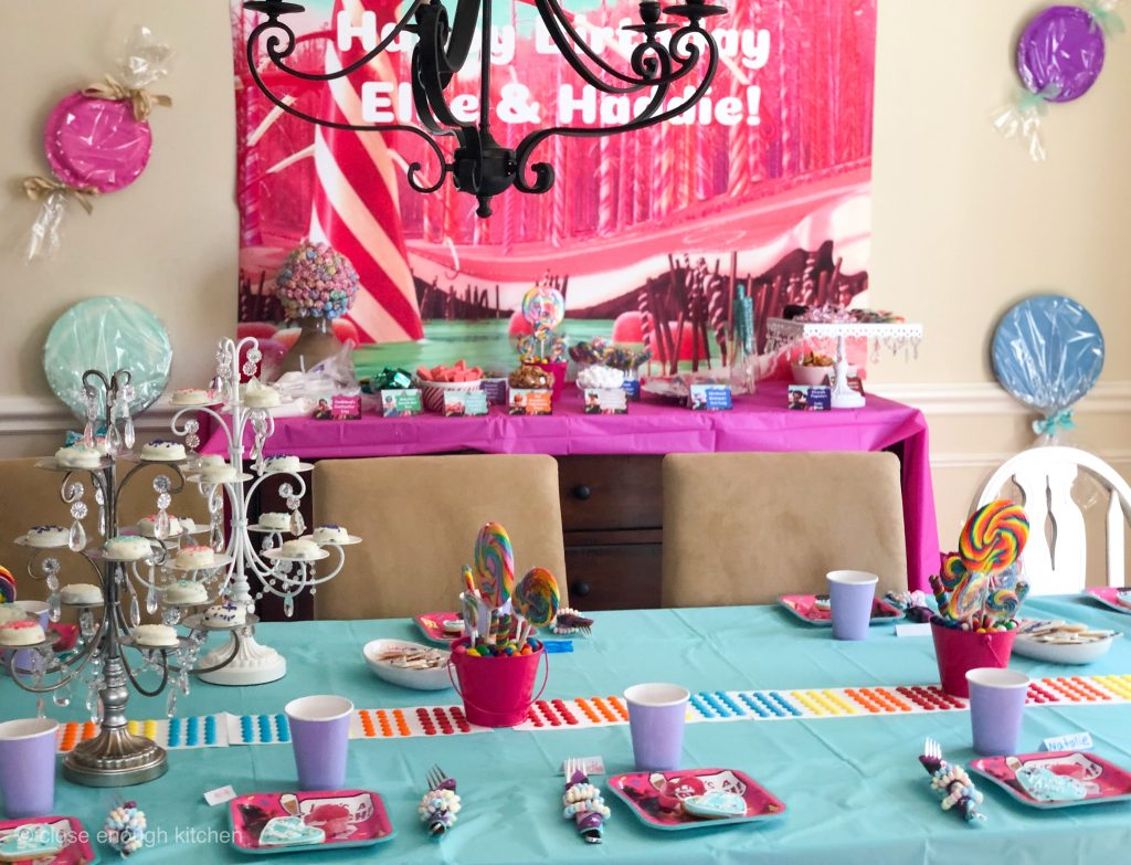 Vanellope party room
