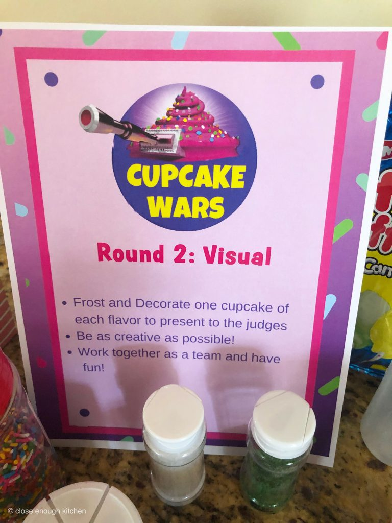 Cupcakes Wars Sign